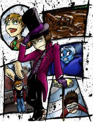 Willy Wonka by RiffThirteen