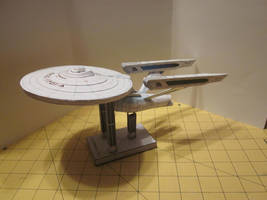 Papercraft Enterprise A 3 by enc86