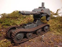 Behemoth Tank in the field by enc86
