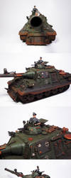 Bezwingers Panzer Collage by enc86