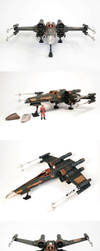 T-65 X-wing Collage by enc86