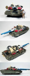 WIP Commissioned Tank :Bits and Bobs by enc86