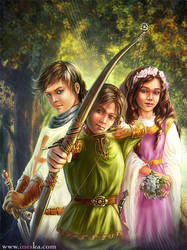 Little Robin Hood by ines-ka