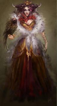 Dark queen by ines-ka