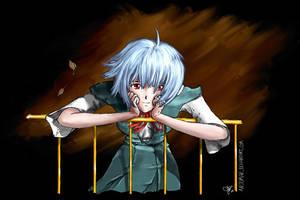 Ayanami Rei - inside by arjomar