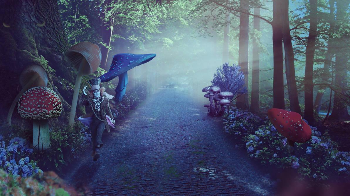 Wonderland Fantasy by Syrupskater
