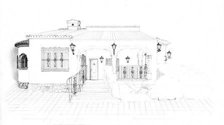 Spanish house 2 by van27