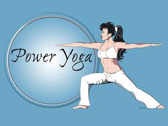 Power Yoga Warrior by van27