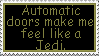 Jedi Feeling Stamp by AcidaliaAdrasteia