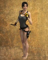 Lara swimsuit by Lastonedown