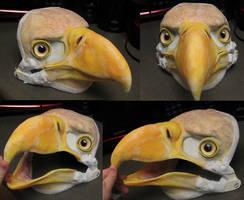 Bald eagle 2.0 mask base by Crystumes