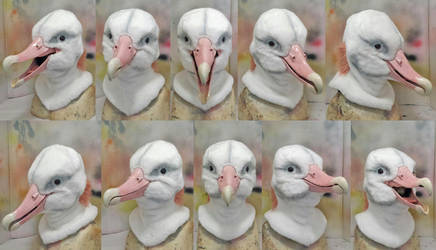 Albatross mask commission by Crystumes