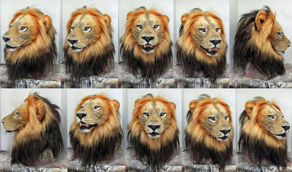 Realistic Lion mask (for sale!) by Crystumes