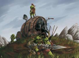 Scyrax' Spear Streamer by FStitz