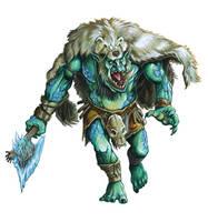 Ice Troll by FStitz