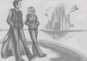 Doctor and Rose by HogwartsHorror