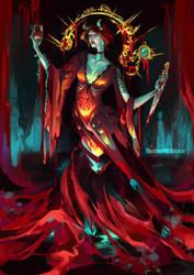 Elizabeth Bathory by TheOneWithBear