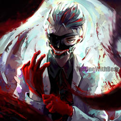 White Suit Kaneki by TheOneWithBear