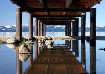 Tahoe Dock by billsabub