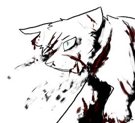 Goretober 1. Gashes by Deercliff