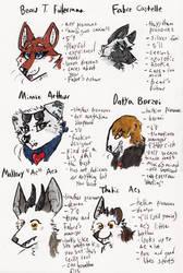 Meet The Beauty Furries! by Deercliff