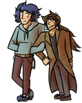 :CO: Nate and Hugh by Deercliff