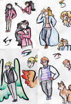 Shadowhunters OCs by Deercliff
