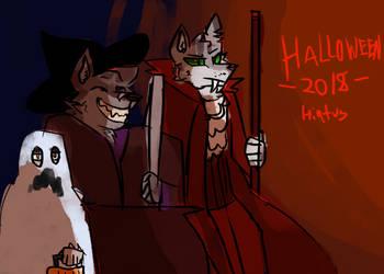 Halloween 2018 + Hiatus Announcement by Deercliff