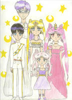 Crystal Tokyo's First Family by KonekoTsukino