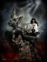 Requiem for a fallen angel by EstherPuche-Art