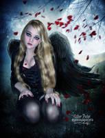 Little Angel Of Love by EstherPuche-Art