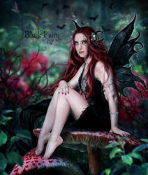 Black Fairy by EstherPuche-Art