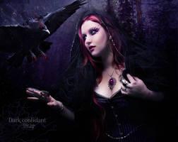 Dark Confidant by EstherPuche-Art