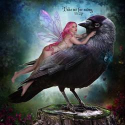Take me far away by EstherPuche-Art