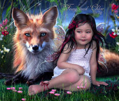 Foxy and Chloe by EstherPuche-Art