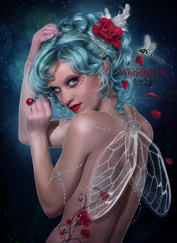 Wendolyne by EstherPuche-Art