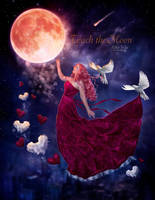 Touch the Moon by EstherPuche-Art