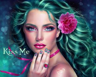 Kiss Me by EstherPuche-Art