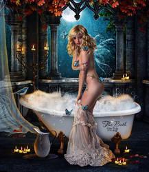 The Bath by EstherPuche-Art