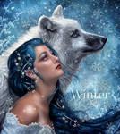 Winter by EstherPuche-Art