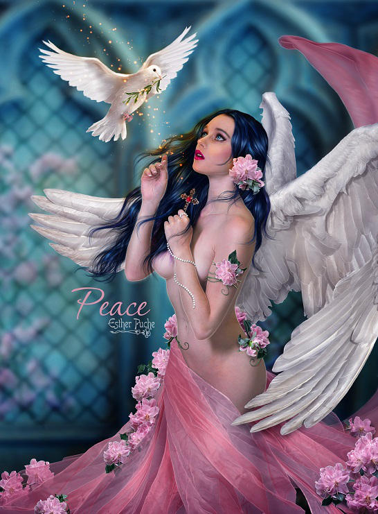 Peace by EstherPuche-Art