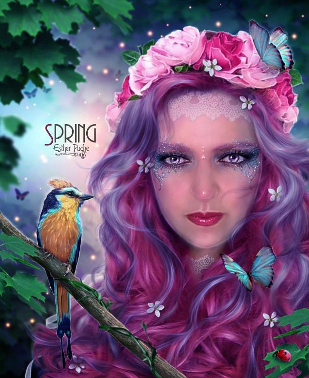 Spring by EstherPuche-Art
