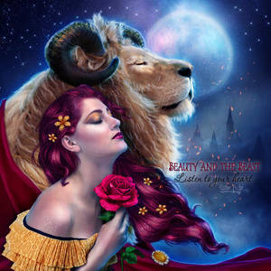 Listen to your heart (Beauty and the Beast) by EstherPuche-Art