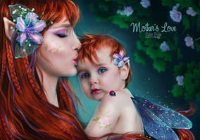 Mother's Love  by EstherPuche-Art