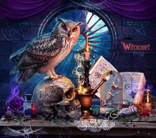 Witchcraft by EstherPuche-Art