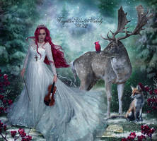 Forgotten Winter Melody by EstherPuche-Art