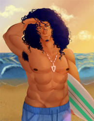 Alex the Surfer Conduit by l4wlii