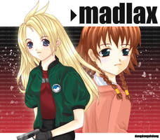 Madlax + Margaret by dongdongahdong