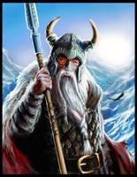 Odin by JohnDotegowski