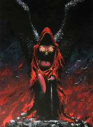 The Red Angel by JohnDotegowski